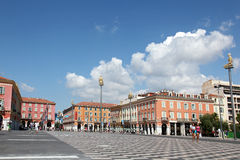 Views Of The Place Massena Royalty Free Stock Photo