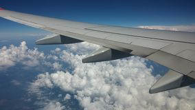 views from a plane Royalty Free Stock Photography