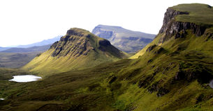 Views from the Quiraing Stock Image
