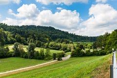 Views of Reppischtal in Zurich, Switzerland Royalty Free Stock Photos