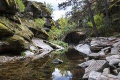Views of the river Eresma Stock Photos