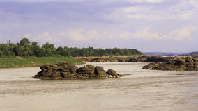 Views River Mekong Royalty Free Stock Image