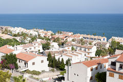 Views of Santa Pola town. Stock Photos