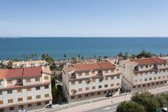 Views of Santa Pola town Royalty Free Stock Photos