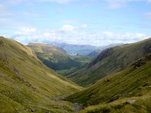 Views from Scafell Pike Royalty Free Stock Photography