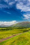 Views of the Scottish highlands Stock Image