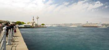 Views from Üsküdar Stock Images