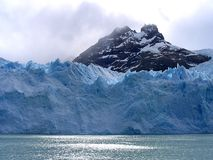 Views of snow peaks and glaciers of Andes mountains, Patagonia, Argentina stock photos