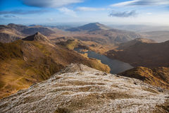 Views from Snowdon Stock Photography
