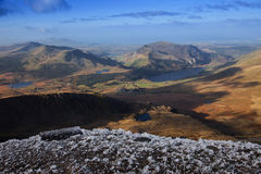 Views from Snowdon Royalty Free Stock Image