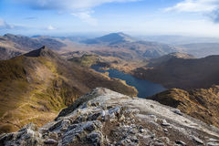 Views from Snowdon Stock Images