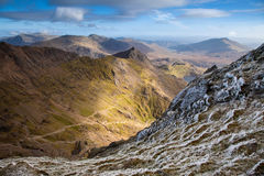 Views from Snowdon Stock Image