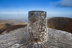 Views from Snowdon Summit Stock Images