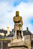 Views of Stirling and monuments to Robert the Bruce and William Royalty Free Stock Photography