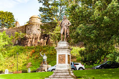 Views of Stirling and monuments to Robert the Bruce and William Stock Photography