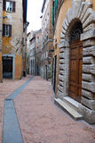 Views of the streets of the beautiful city of Perugia Royalty Free Stock Photography