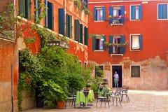 Streets of Venice, Italy Stock Photography