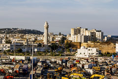 Views of the surrounding area and the port of La Gullet in Tunis Stock Photography