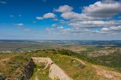 Views of the surrounding countryside , near the village of Balaklava Royalty Free Stock Photos