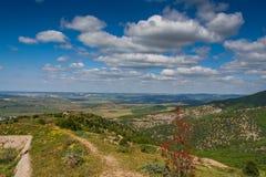 Views of the surrounding countryside , near the village of Balaklava Stock Image