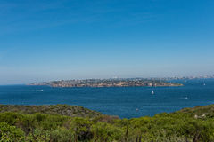 Views of Sydney from North Head, Manly, Australia. Scenic views of Sydney from North Head, Manly, Australia stock images