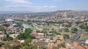 Views of Tbilisi Royalty Free Stock Photo