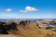 Views from Te Mata Peak, Hawkes Bay, New Zealand Stock Images