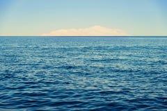 Views of Tiran Island. From Sharm El Sheikh Royalty Free Stock Images