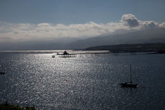 Views to Bangor Pier Royalty Free Stock Photography