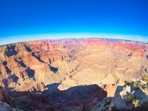 Views to the grand canyon stock photography