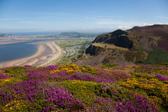 Views to Llandudno Stock Image