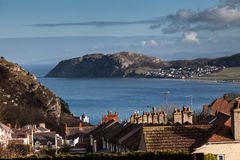 Views to Llandudno Royalty Free Stock Images