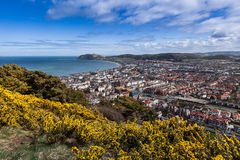 Views to Llandudno Royalty Free Stock Photo