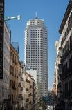 Tower of Madrid Torre de Madrid Royalty Free Stock Photography