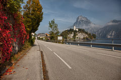 Views of Traunkirchen, Traunsee, in Salzkammergut, Upper Austria Royalty Free Stock Photography