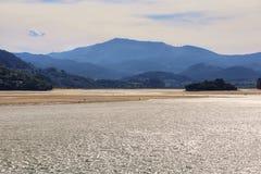 Views of Urdaibai biosphere reserve royalty free stock images