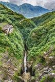 Views of Verzasca Valley. Switzerland Royalty Free Stock Image