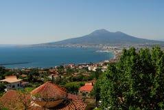 Views of Vesuvian. Views of Amalfi cost, Napoli campania Italy stock photography