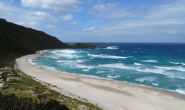 Views of the Walpole Inlet Western Australia  on a cloudy day. Royalty Free Stock Photography