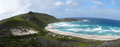 Views of the Walpole Inlet Western Australia  on a cloudy day. Views of the Southern Ocean at  Walpole Inlet Western Australia  on a cloudy day in autumn are Stock Photography