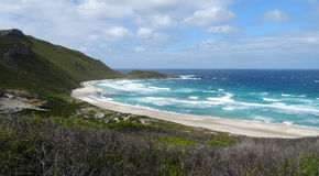Views of the Walpole Inlet Western Australia  on a cloudy day. Royalty Free Stock Photos