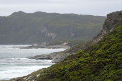 Views of the Walpole Inlet Western Australia  on a cloudy day. Stock Photography