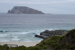 Views of the Walpole Inlet Western Australia  on a cloudy day. Stock Images