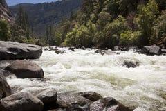 Yosemite Valley. Sierra Nevada Mountains. Views of Yosemite National Park Stock Images
