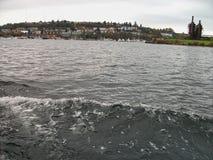 viewto la bahía en Seattle imágenes de archivo libres de regalías