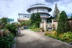 Viewtower dans le musée Hiei, Kyoto, Japon de jardin photos stock