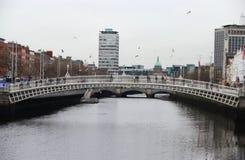 Viewv в Дублина, Ирландии Стоковая Фотография RF
