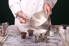vifta för bagaremjöl Royaltyfri Bild