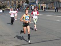 Vigésima sétima maratona internacional Siberian Fotos de Stock Royalty Free