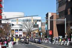 vigésimo Spectacular anual del desfile de la acción de gracias de UBS Imagen de archivo